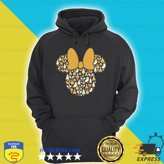 Minnie mouse icon holiday cheer s hoodie