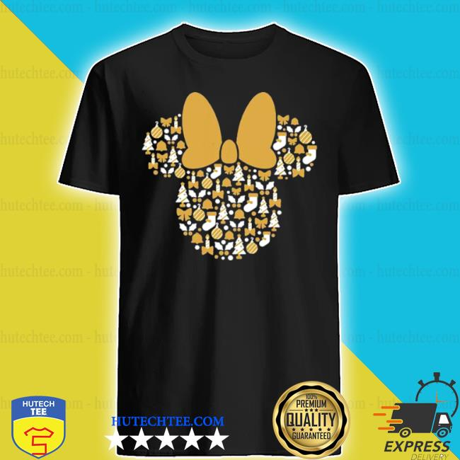 Minnie mouse icon holiday cheer shirt