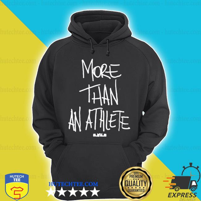 More than athlete s hoodie