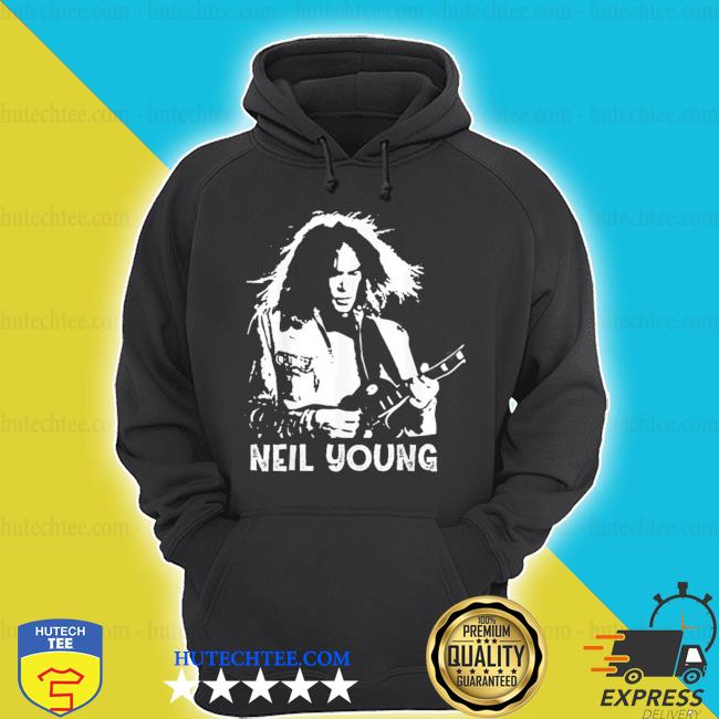 Neil young rock roll legends never die s hoodie