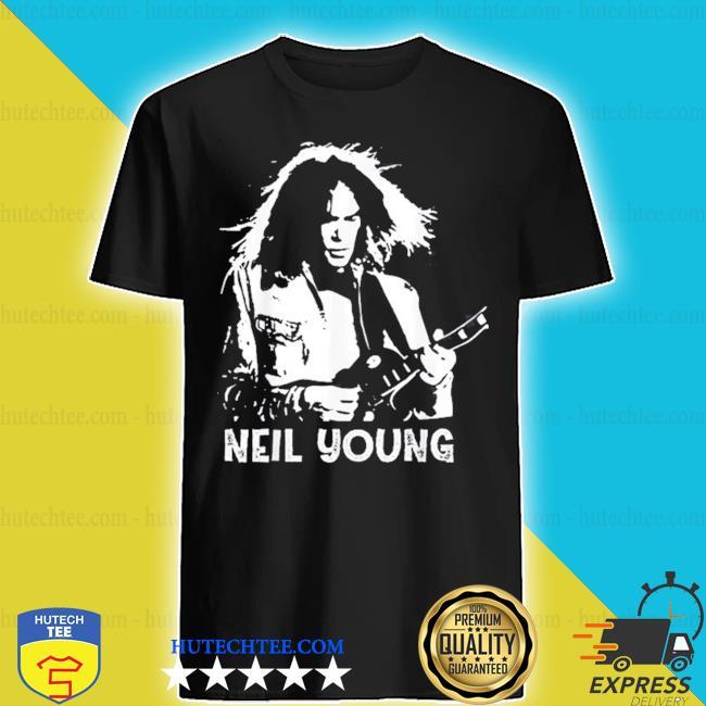 Neil young rock roll legends never die shirt