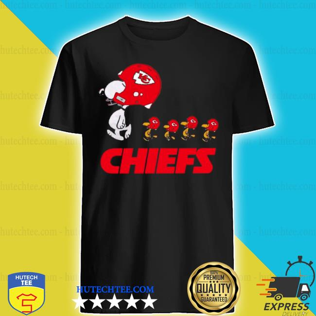 Snoopy and woodstock the Kansas city Chiefs shirt