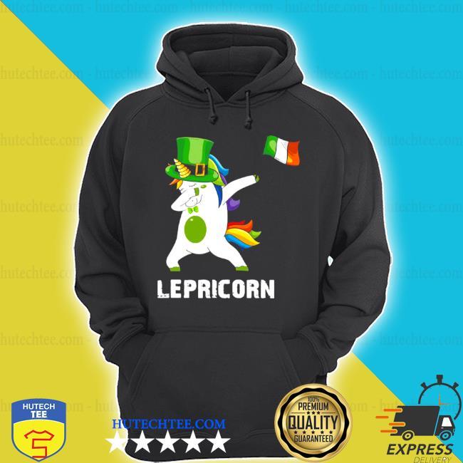 St patrick's day unicorn dabbing lepricorn s hoodie