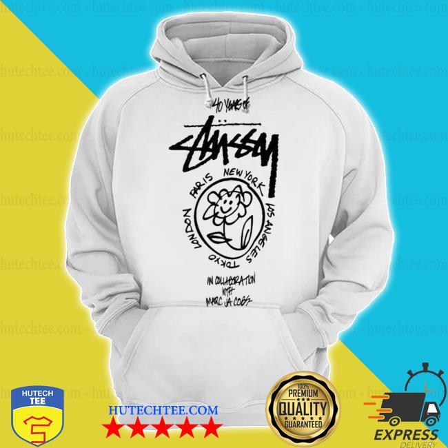 Stussy merch marc jacobs world tour s hoodie