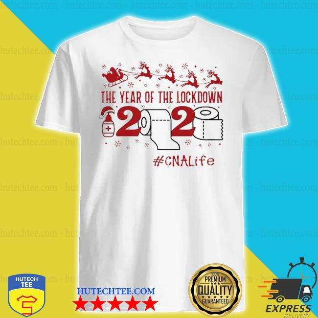The year of the lockdown 2020 cna life merry Christmas sweater