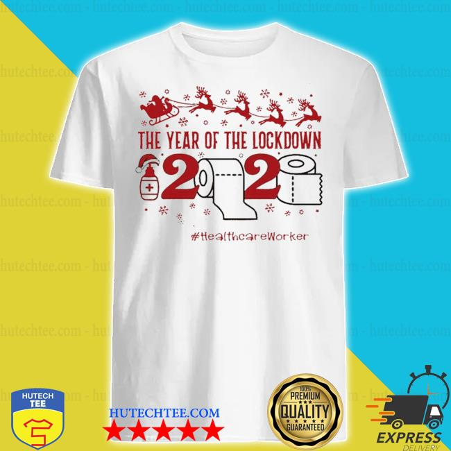 The year of the lockdown 2020 #Healthcareworkers life merry Christmas sweater