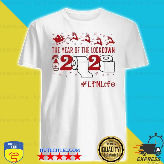 The year of the lockdown 2020 LPN life merry Christmas sweater