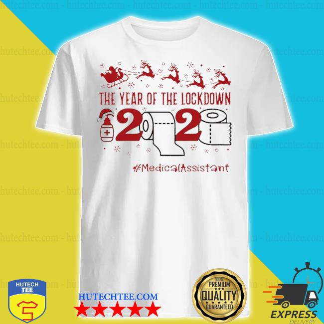 The year of the lockdown 2020 #Medicalassistant life merry Christmas sweater