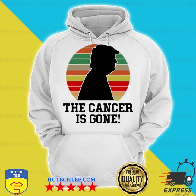 Trump the cancer is gone vintage sunset s hoodie