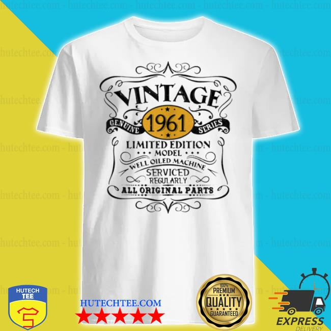 Vintage 1961 60th birthday original shirt