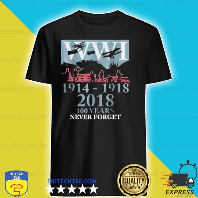 World war one ww1 wwi 100 years anniversary black shirt