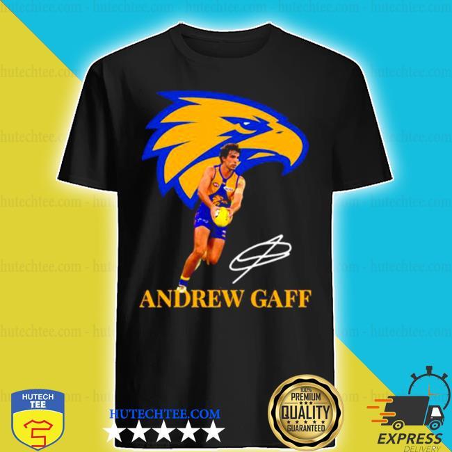Andrew gaff player of team philadelphia eagles football signature shirt