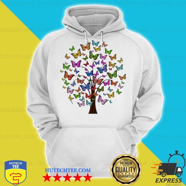 Butterflies in a tree s hoodie