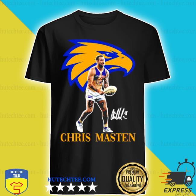 Chris masten player of team philadelphia eagles football signature shirt