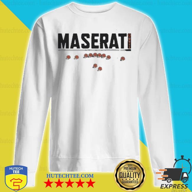 Cleveland browns maserati s sweatshirt
