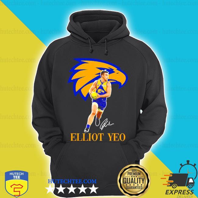 Elliot yeo player of team philadelphia eagles football signature s hoodie