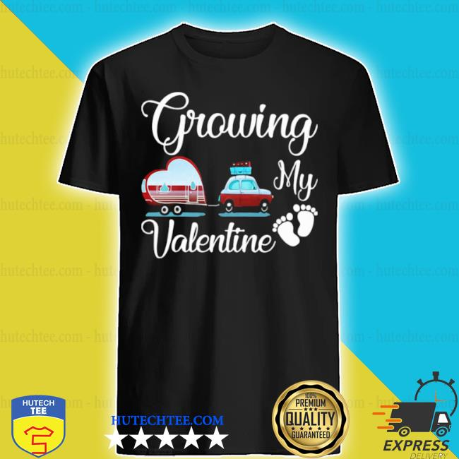 Growing my valentine ambulance heart foot shirt