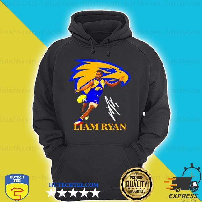 Liam ryan player of team philadelphia eagles football signature s hoodie