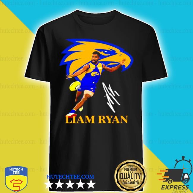 Liam ryan player of team philadelphia eagles football signature shirt