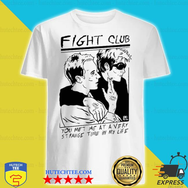 Loudmouth threads fight club shirt