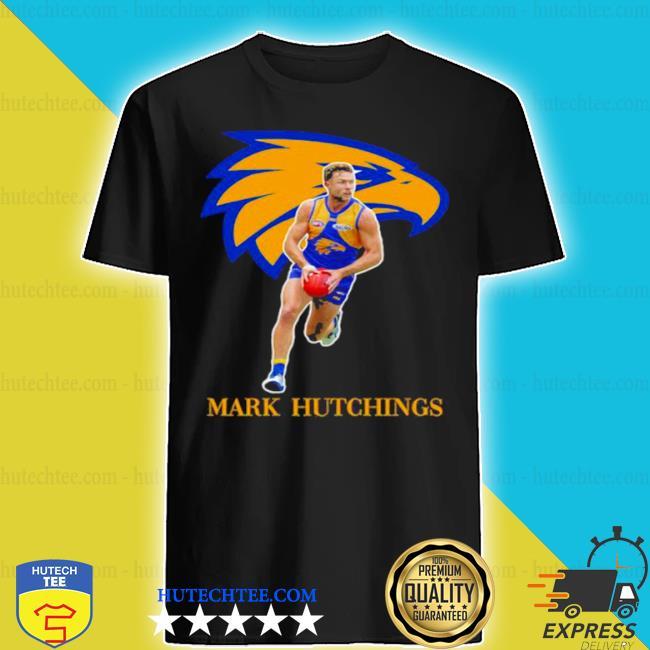 Mark hutchings player of team philadelphia eagles football shirt