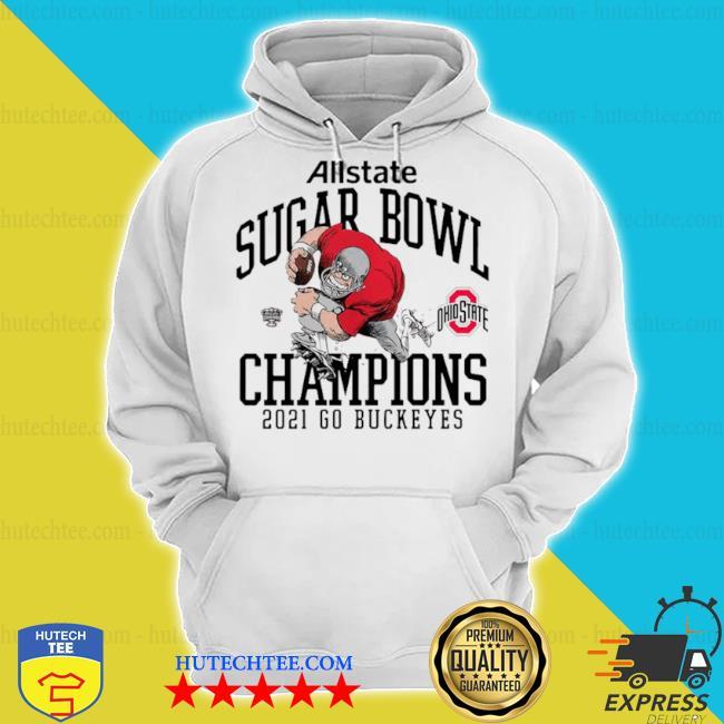 Ohio state buckeyes allstate sugar bowl champions 2021 go buckeyes s hoodie