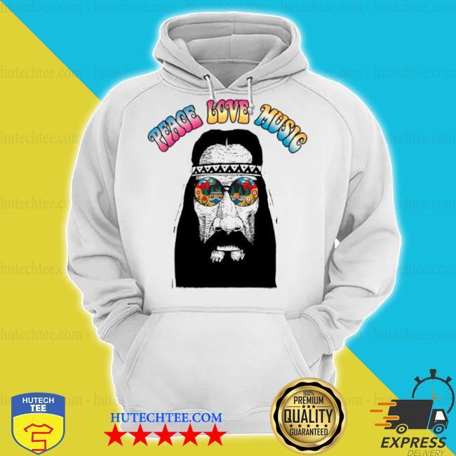 Peace love music s hoodie