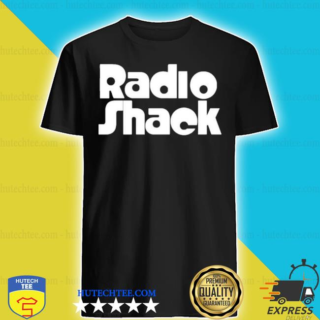 Retro radioshack shirt