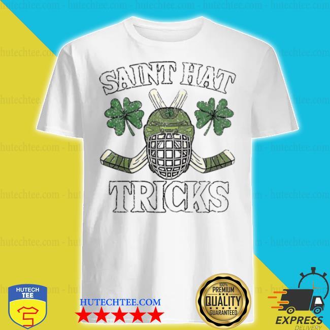 Saint hat tricks shirt