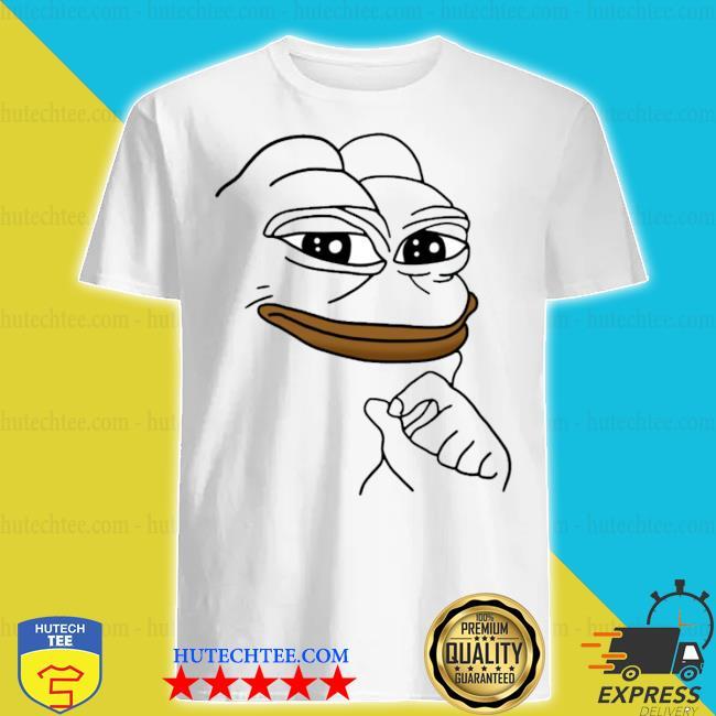 Smug pepe the frog meme shirt