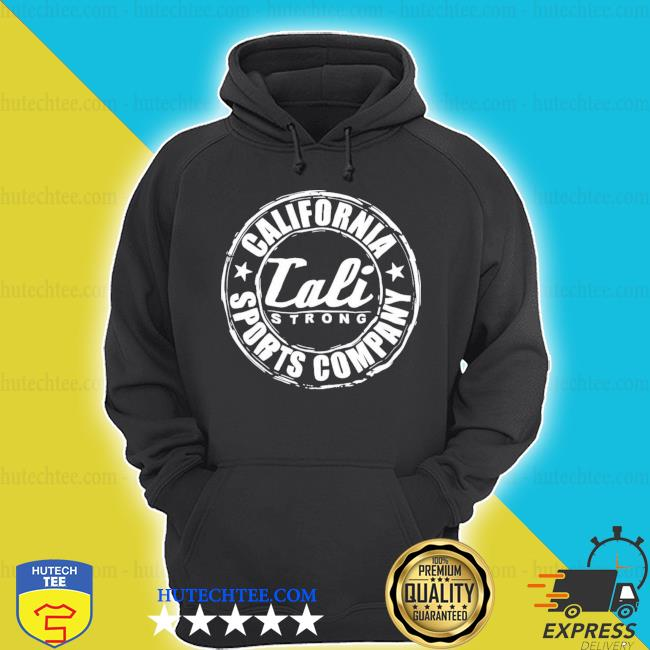 Trevor noah calI strong's California sports company glow s hoodie