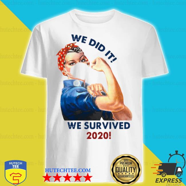 We did it we survived ceramic coffee shirt