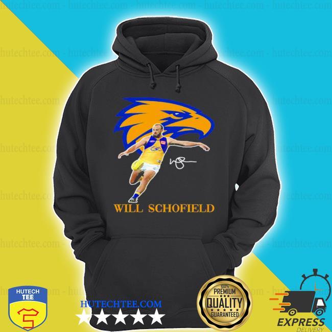 Will schofield player of team philadelphia eagles football signature s hoodie